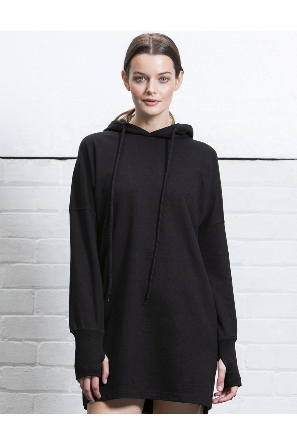 womens hoodie dress p251 4135 image