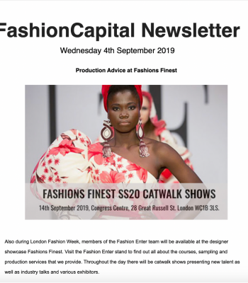 Fashion capital Newsletter