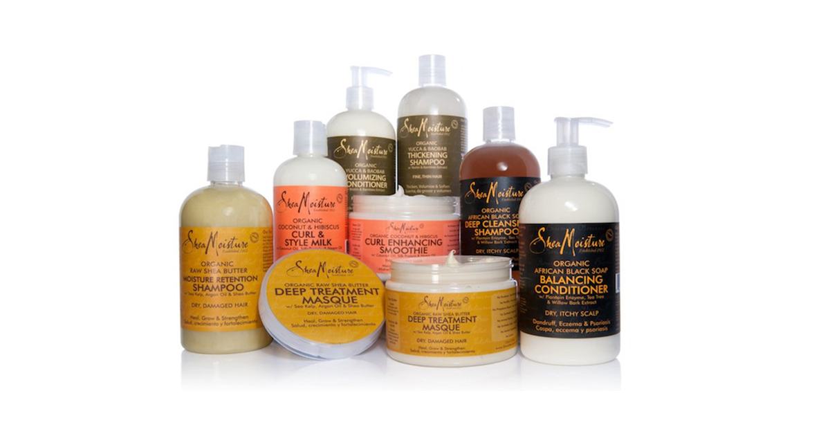 shea moisture hair products