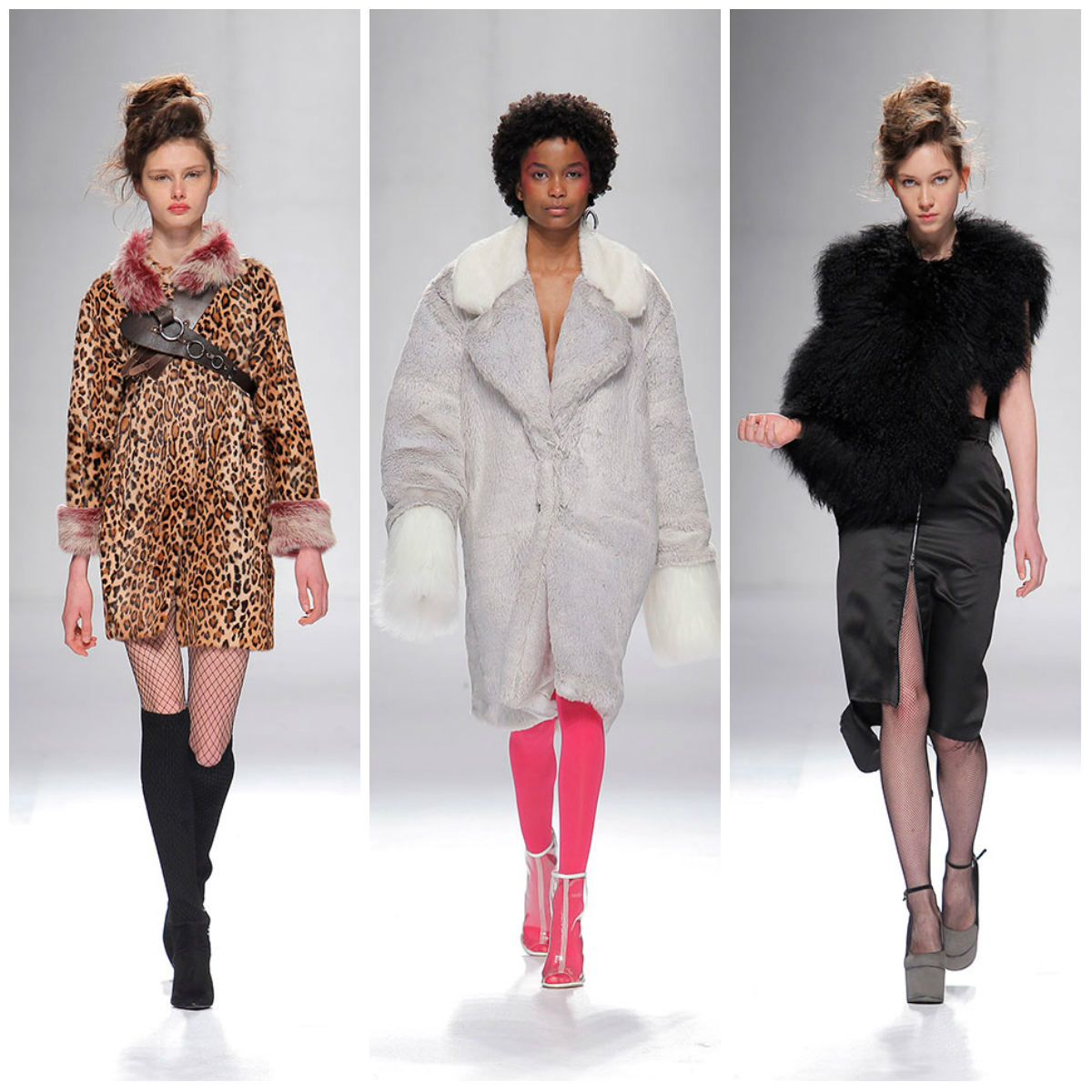 3. Statement faux fur