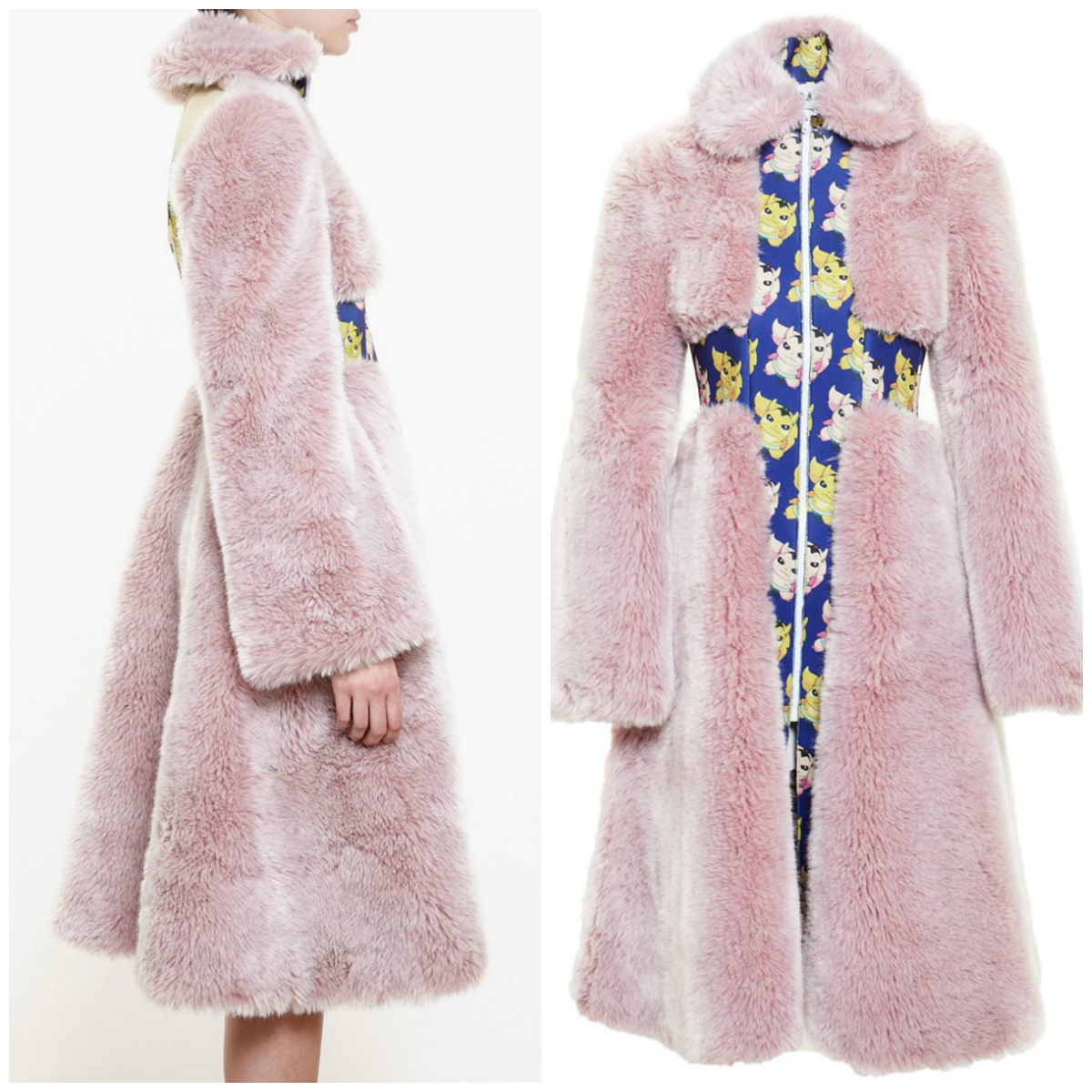 AWAKE Faux Fur Coat