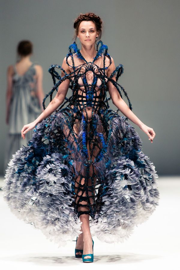 Fashion highlights of 2012 for Couture clothing