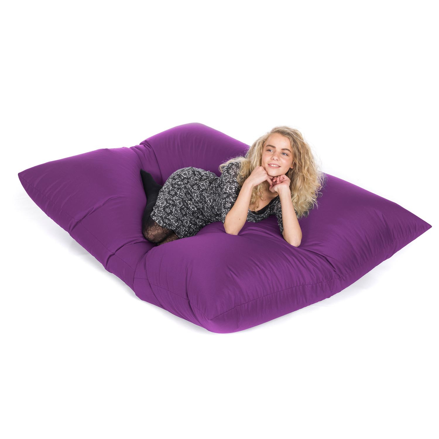 slab bean bags outdoor purple 1