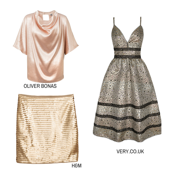 Metallic Statement pieces result