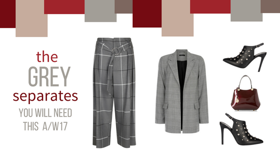 the grey suit Autumn Winter