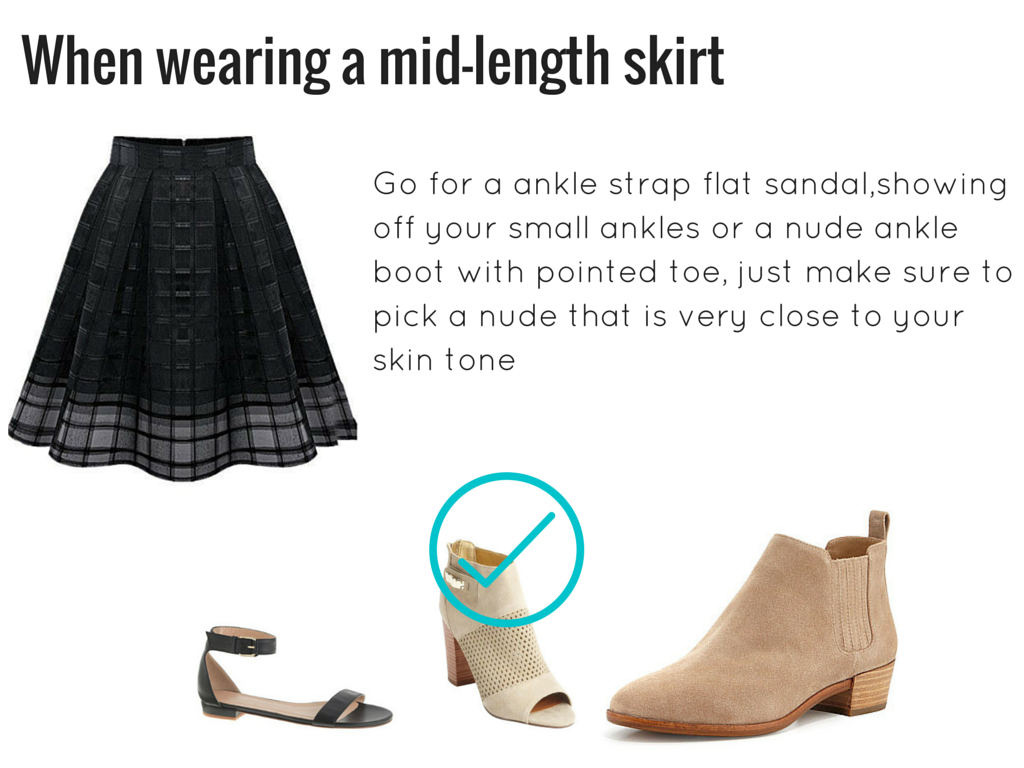 How to look taller wearing flats3