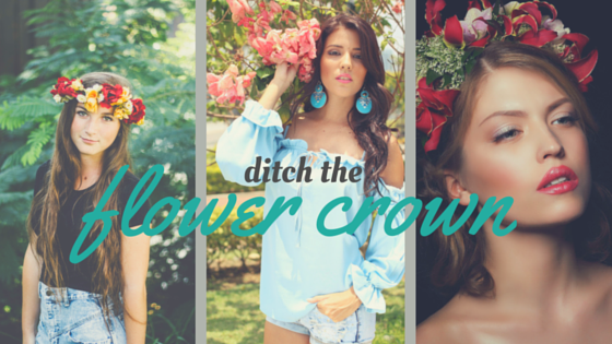 Ditch the flower crown fashions finest