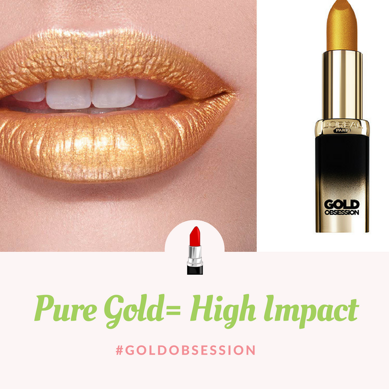 High Impact Pure Gold Gold obsession