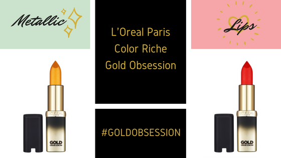 LOreal Paris Color RICHE GOLDOBSESSION