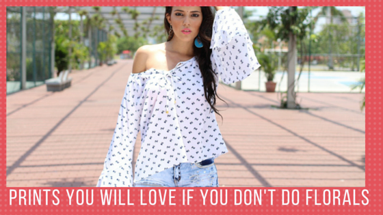 Prints you will love if you dont do florals