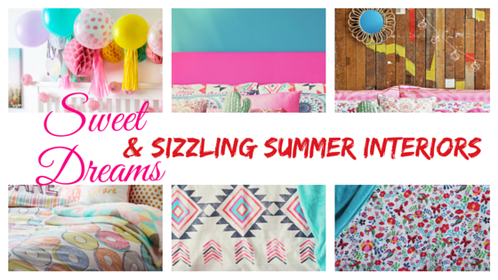 Sweet and sizzzling summer interiors