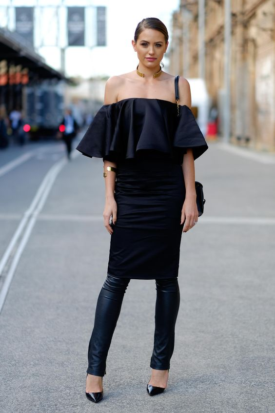 dress over pants pinterest