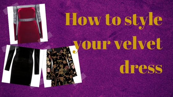 how to style your velvet dress