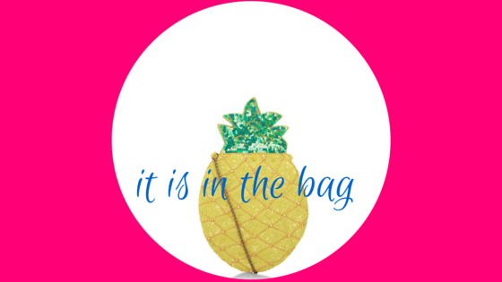 it is in the bag