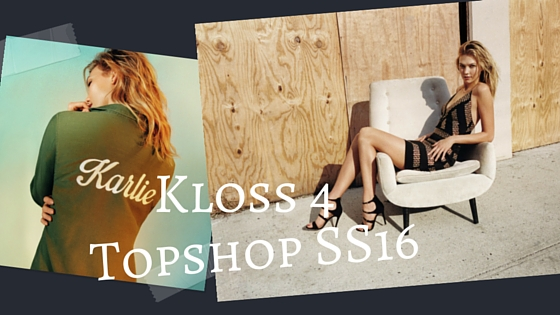kARLIE KLOSS FOR TOPSHOP
