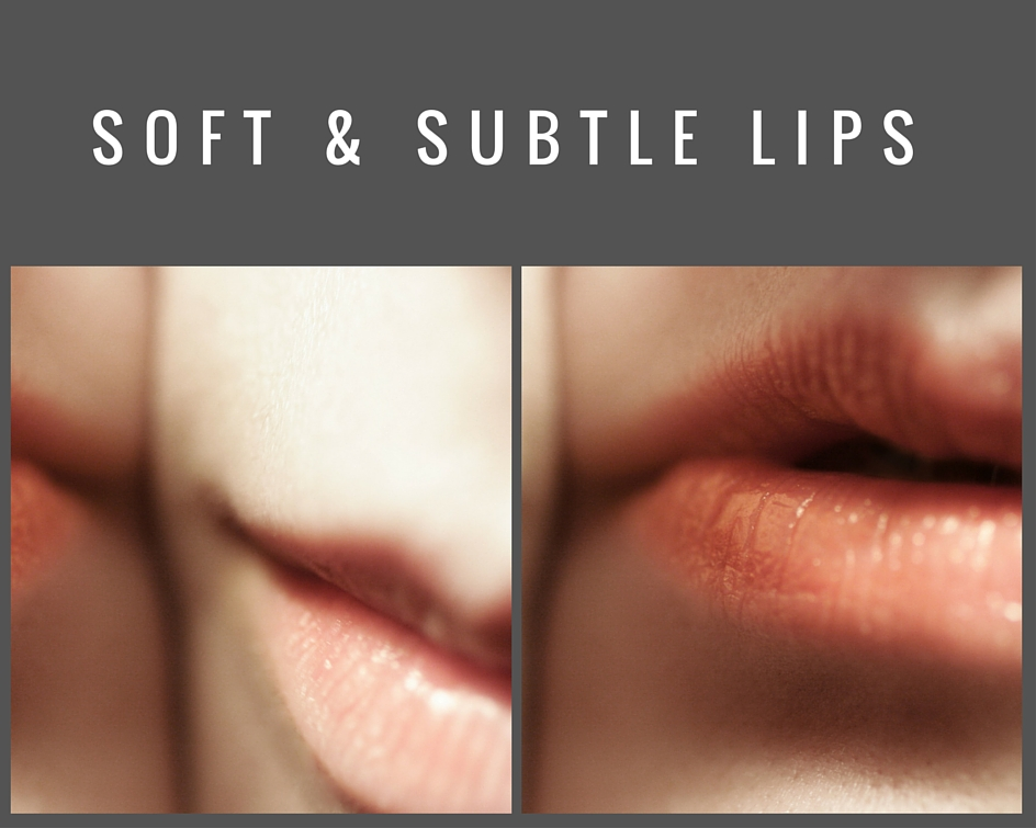 soft subtle lips
