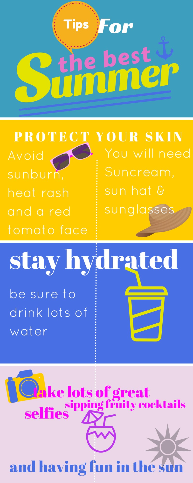 Tips for the best summer