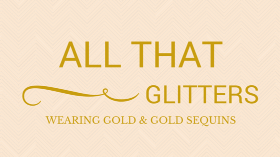 WEARING GOLD BLOG HEADER