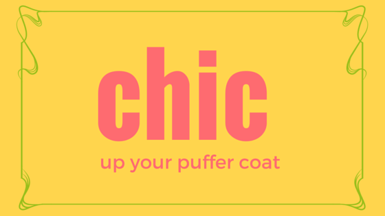 chicup your puffer coat