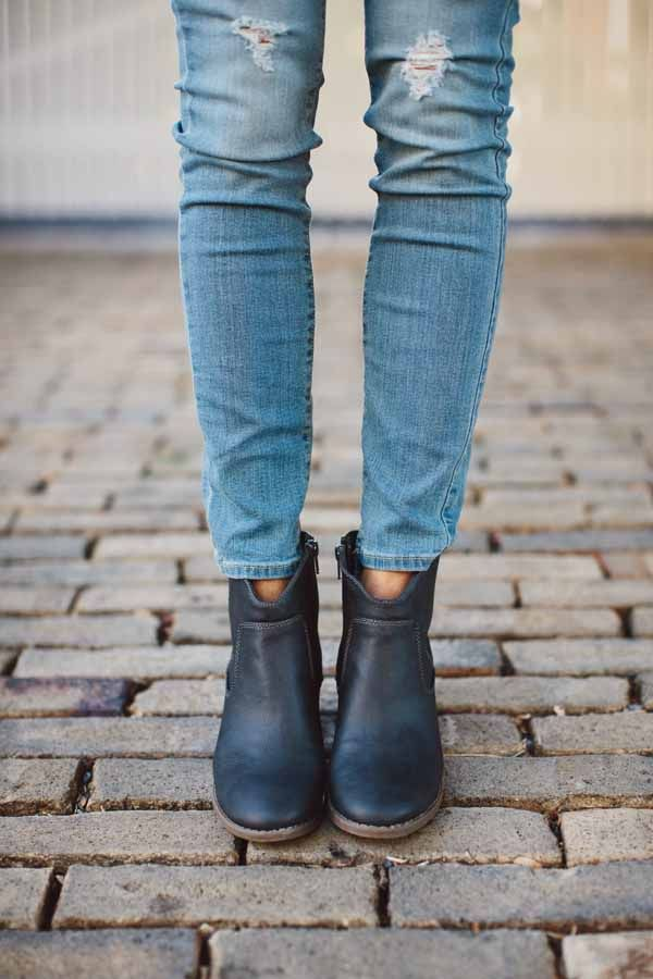 jeans and ankle boot 1