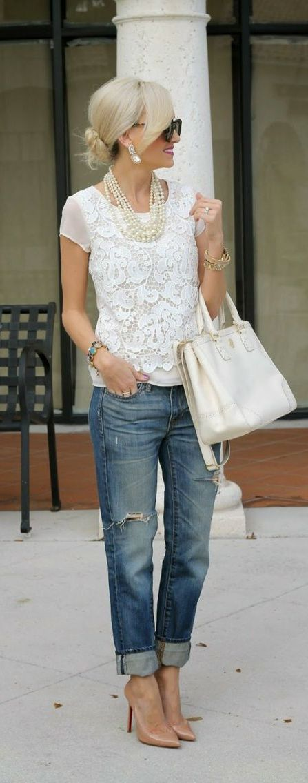 ripped jeans pinterest 1