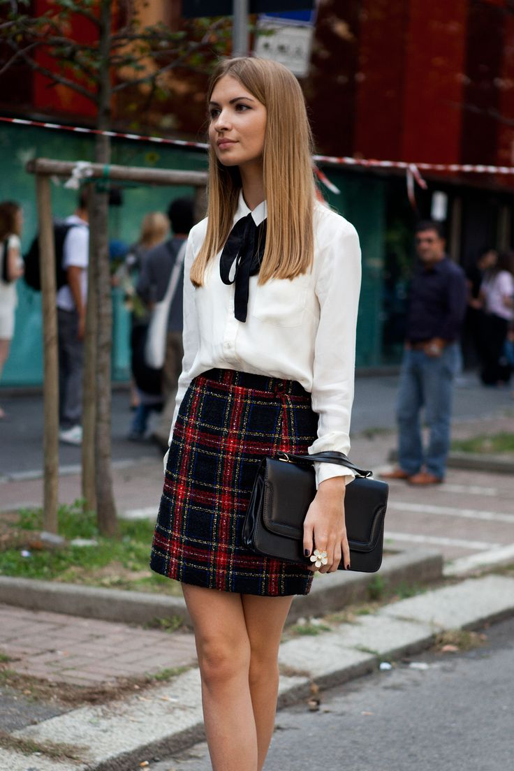 school girl chic