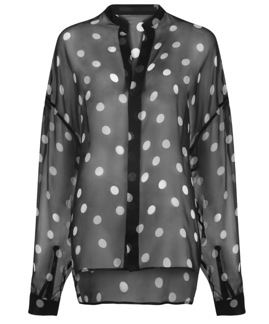 fashion_Haider_Ackermann__polka_dot_silk_blouse_fashions_finest