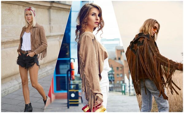 Fringed leather jacket is an absolute must result