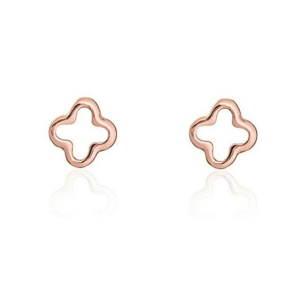 Rose Gold Flower Studs Joshua James result
