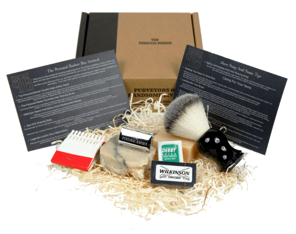 shaving subscription box