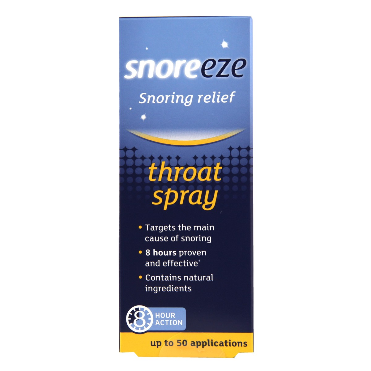 snoreeze snoring relief throat spray hr