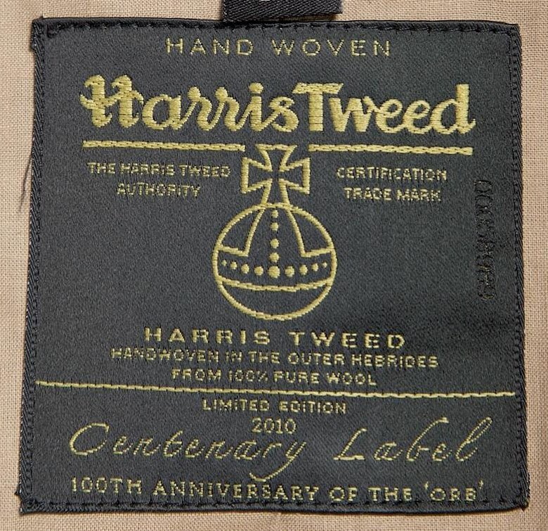 Harris Tweed Authority Centenary Label