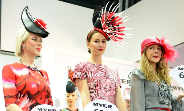 The Final Three 2013 Myer Fashions on the Field 10705855674 result