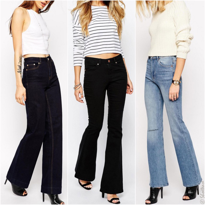 shoes to wear with flare jeans 2