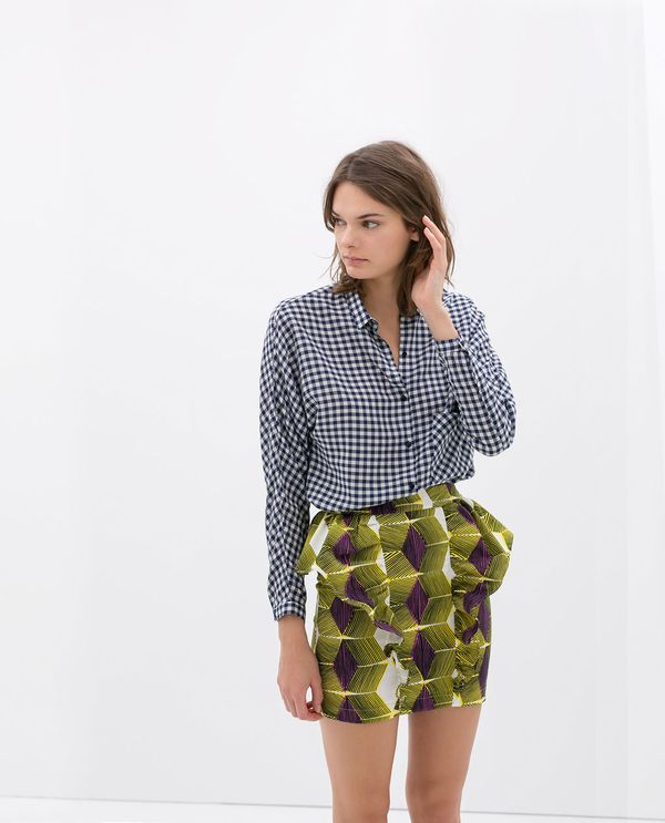 zara_print_ruffled_skirt_