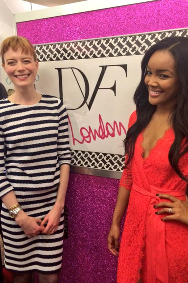 Brittany Hampton and Jessica Joffe at the event