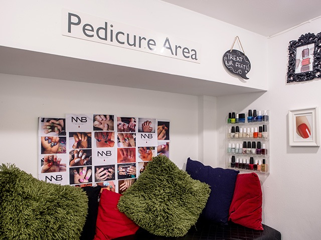 PEDICURE AREA