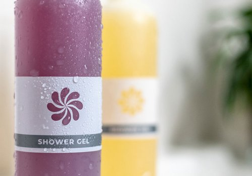 Launch of zero waste shower gel