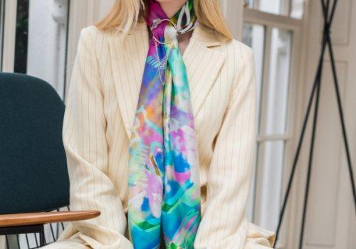 Wear it local, wear it multi-ways: Firehorse silk scarves