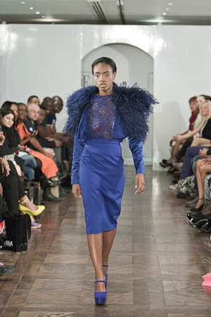 SVE by Sally Ellis A/W 2012 LFW