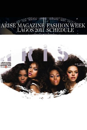 Arise Magazine Fashion Week Schedule