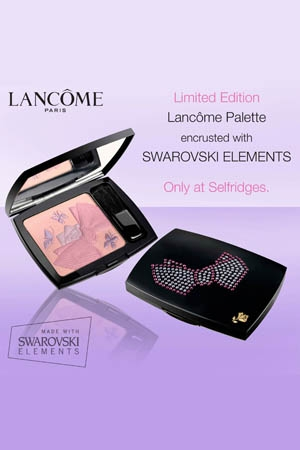 Lancome Pallet Encrusted With Swarovski Elements