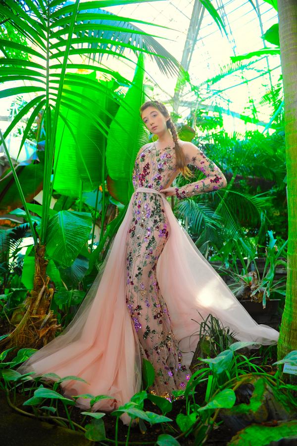 """LA MÉTAMORPHOSE SS21 Couture Collection """"Fleurs de Ville"""""""