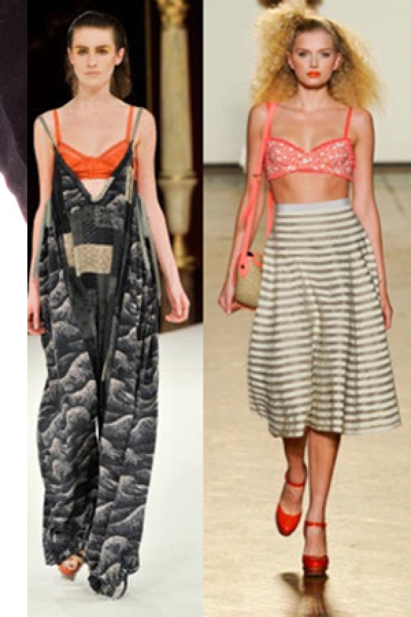 Trend Report – Undergarments as Outerwear