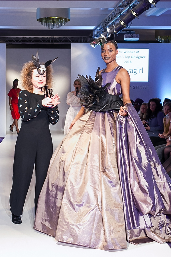 Hellavagirl wins Britain's Top Designer 2016
