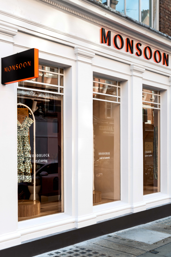 Monsoon Opens A New Boutique Store Concept In London