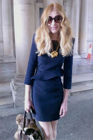Nicola Roberts in STAR HU at LFW