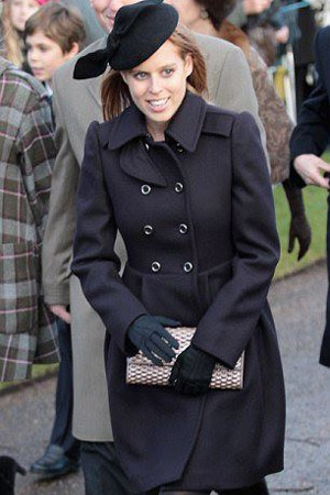 Princess Beatrice wearing Ilda Di Vico couture hat