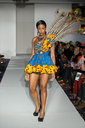 Debby African Stitches SS14 LFW