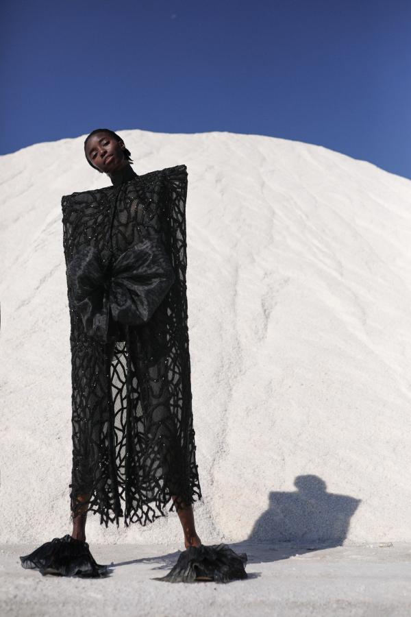 Juana Martín's rebirth: 'Sel Noir', A/W 2021 collection
